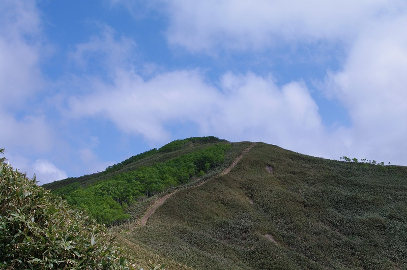 066合目からの稜線.jpg