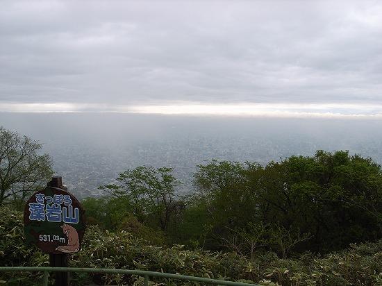 5月23日の藻岩山
